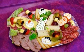 Wurst Käse Platte Weimar Bäckerei Rose