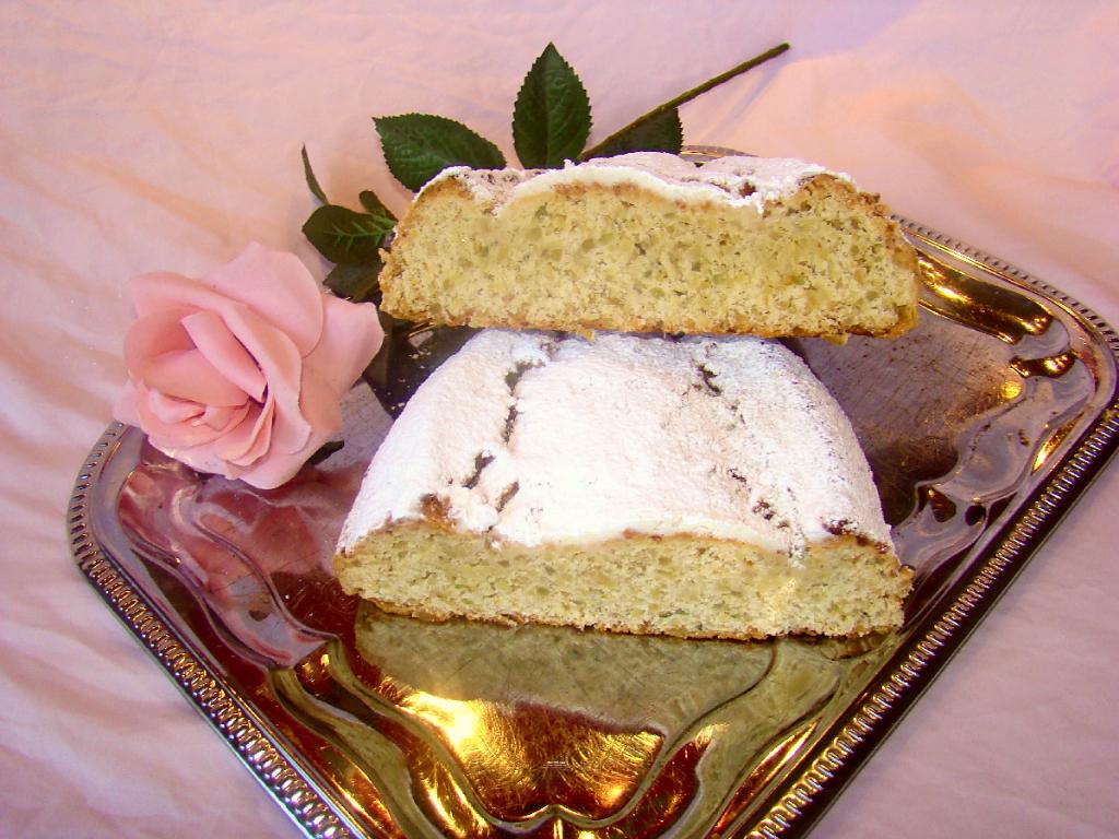 Mandelstollen Stollen ohne Rosinen Bäckerei Rose Weimar