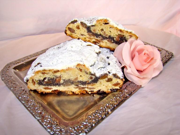 Mohnstollen Bäckerei Rose Weimar