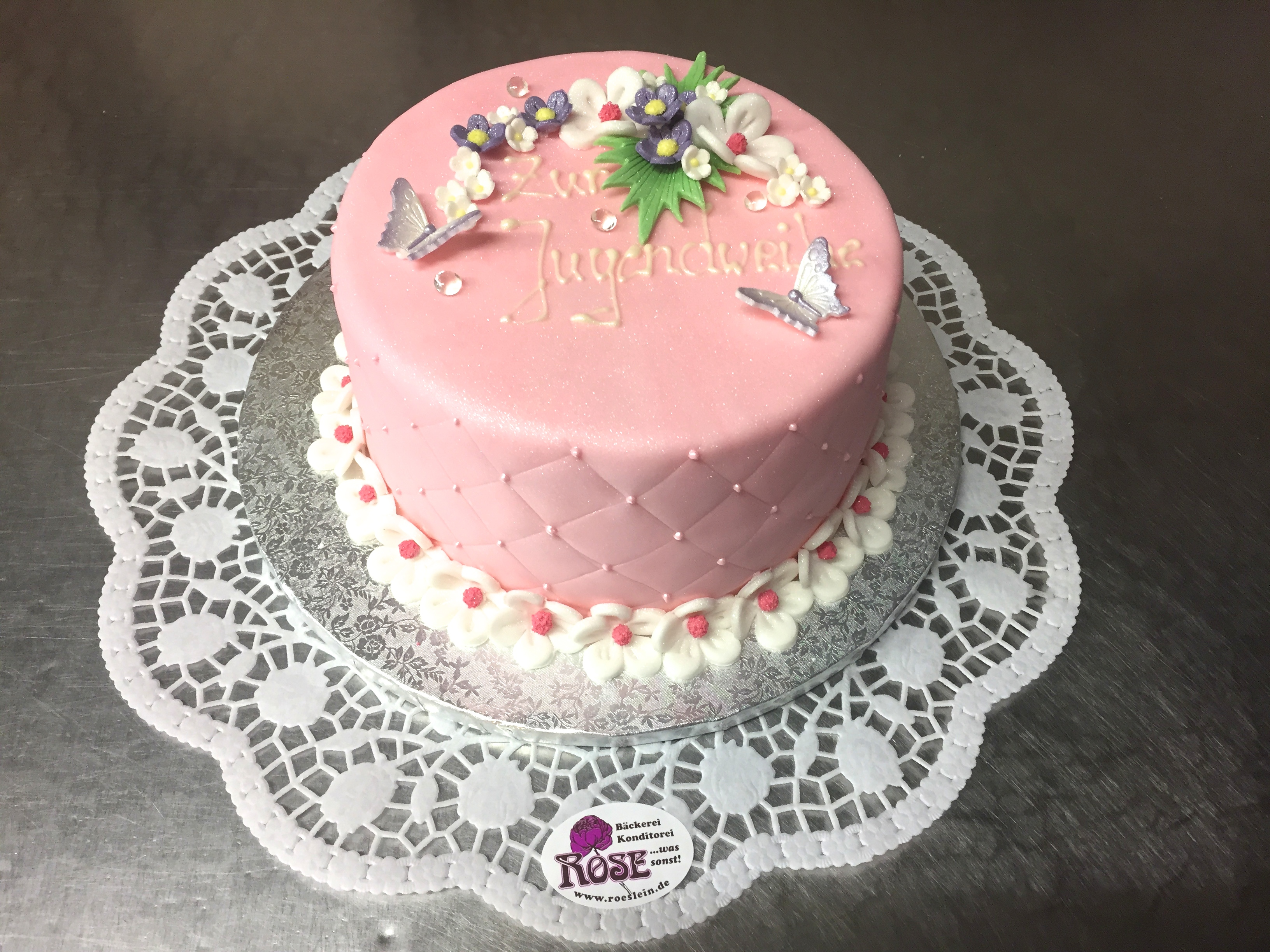 Geurbtstagstorte Bäckerei Rose Weimar