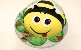 Kinder Geburtstagstorte Biene Bäckerei Rose Weimar Bild