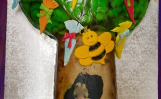 Zuckertüten Baum Torte Bäckerei Rose Weimar