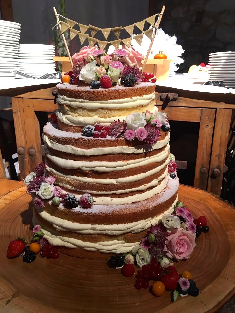 Naked Cake Bäcker Rose Weimar