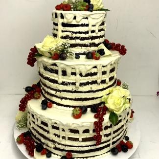 Naked Cake Bäckerei Rose Weimar