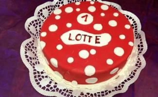 Kindergeburtstag Torte Bild Weimar Bäckerei Rose