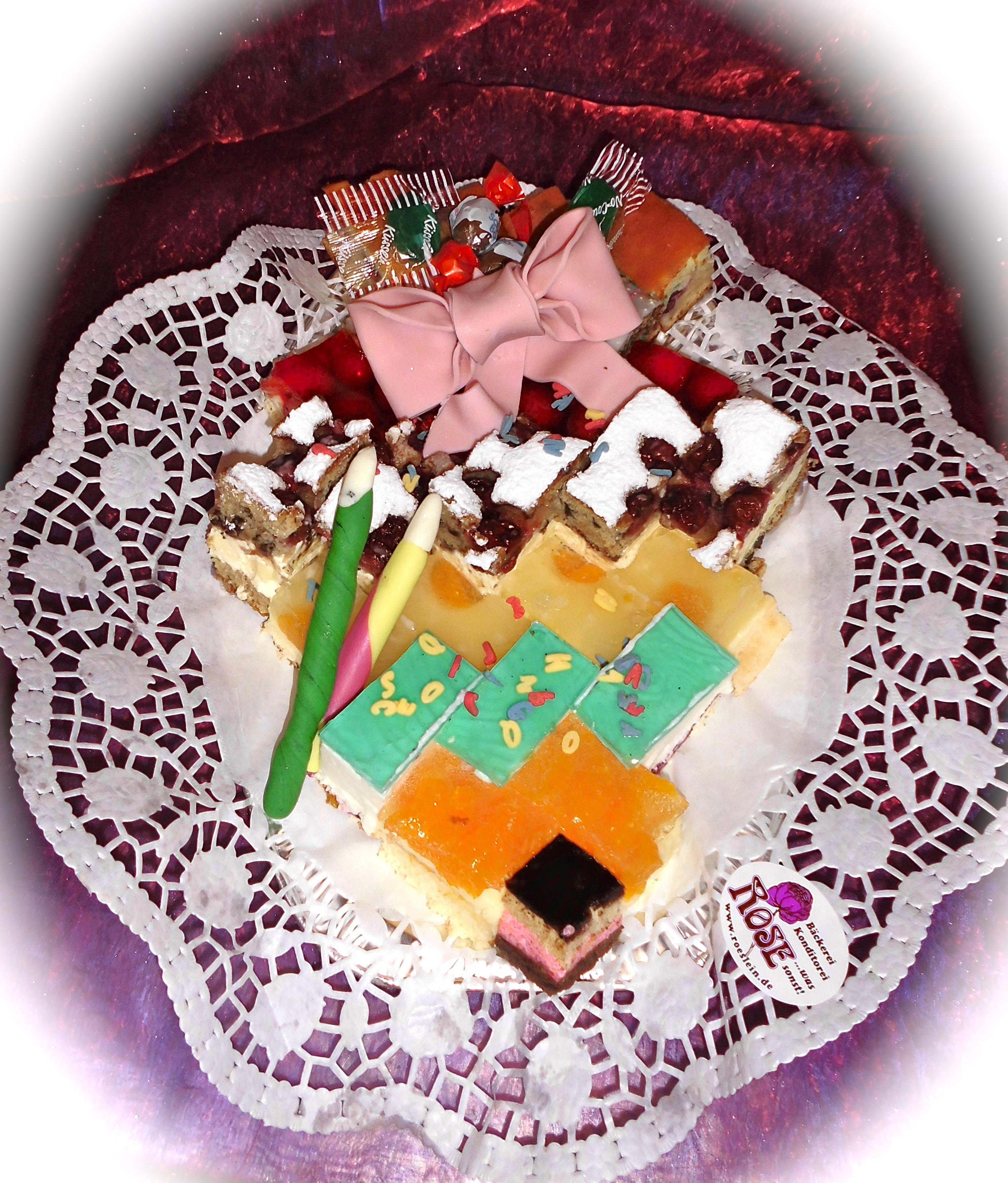 Kuchenplatte Bäckerei Rose Weimar