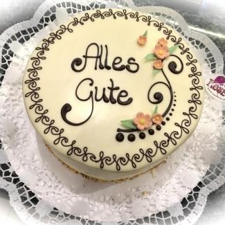 Bäckerei Rose Weimar Geburtstagstorte