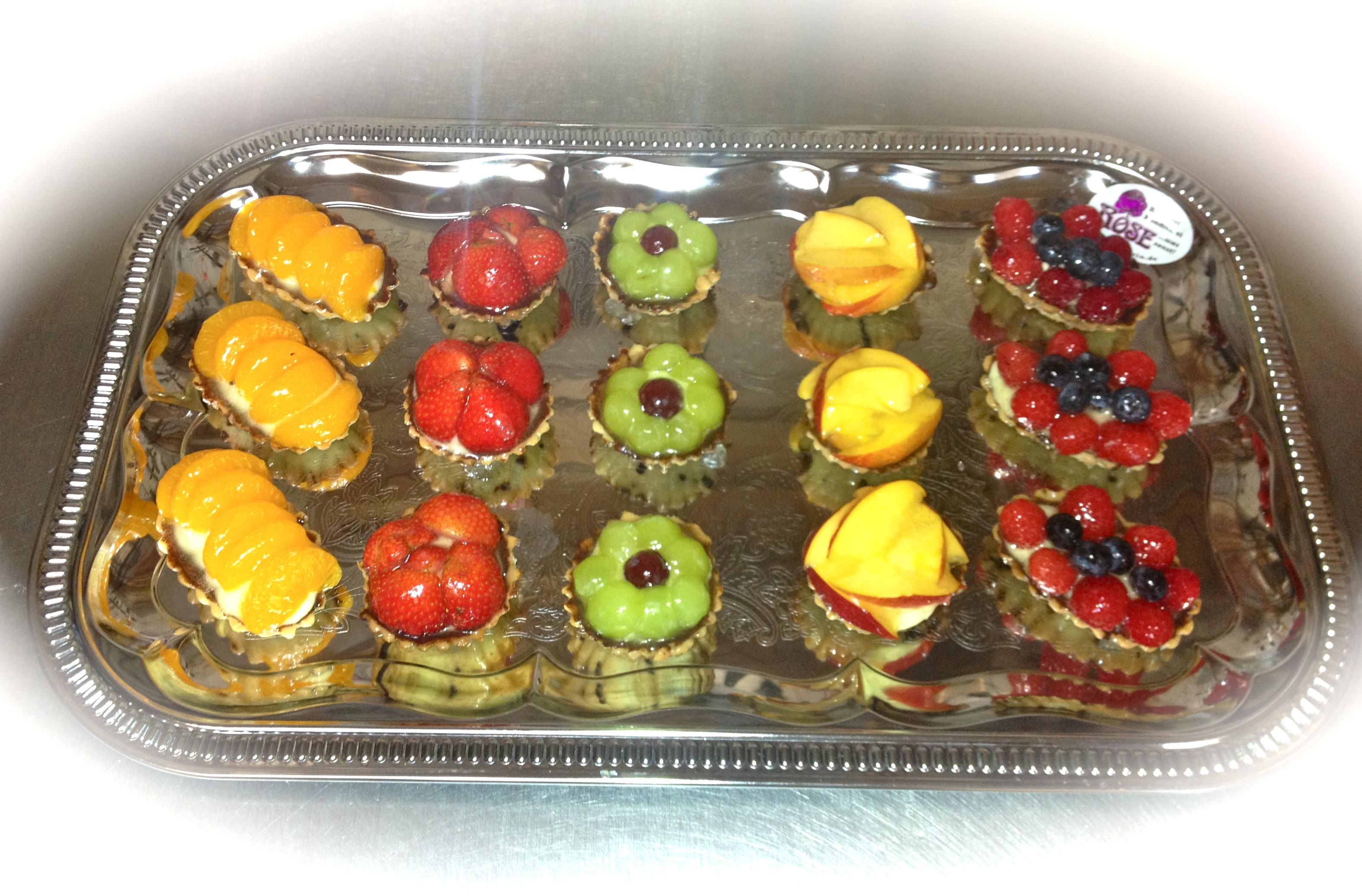 Kleine süße Häppchen Bäckerei Rose Weimar