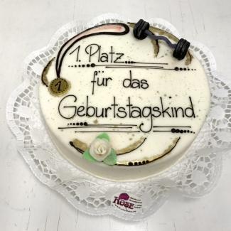 Geburtstagstorte Weimar Bäckerei Rose