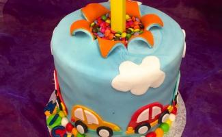 Kindergeburtstags Torte Junge Weimar Bäckerei Rose