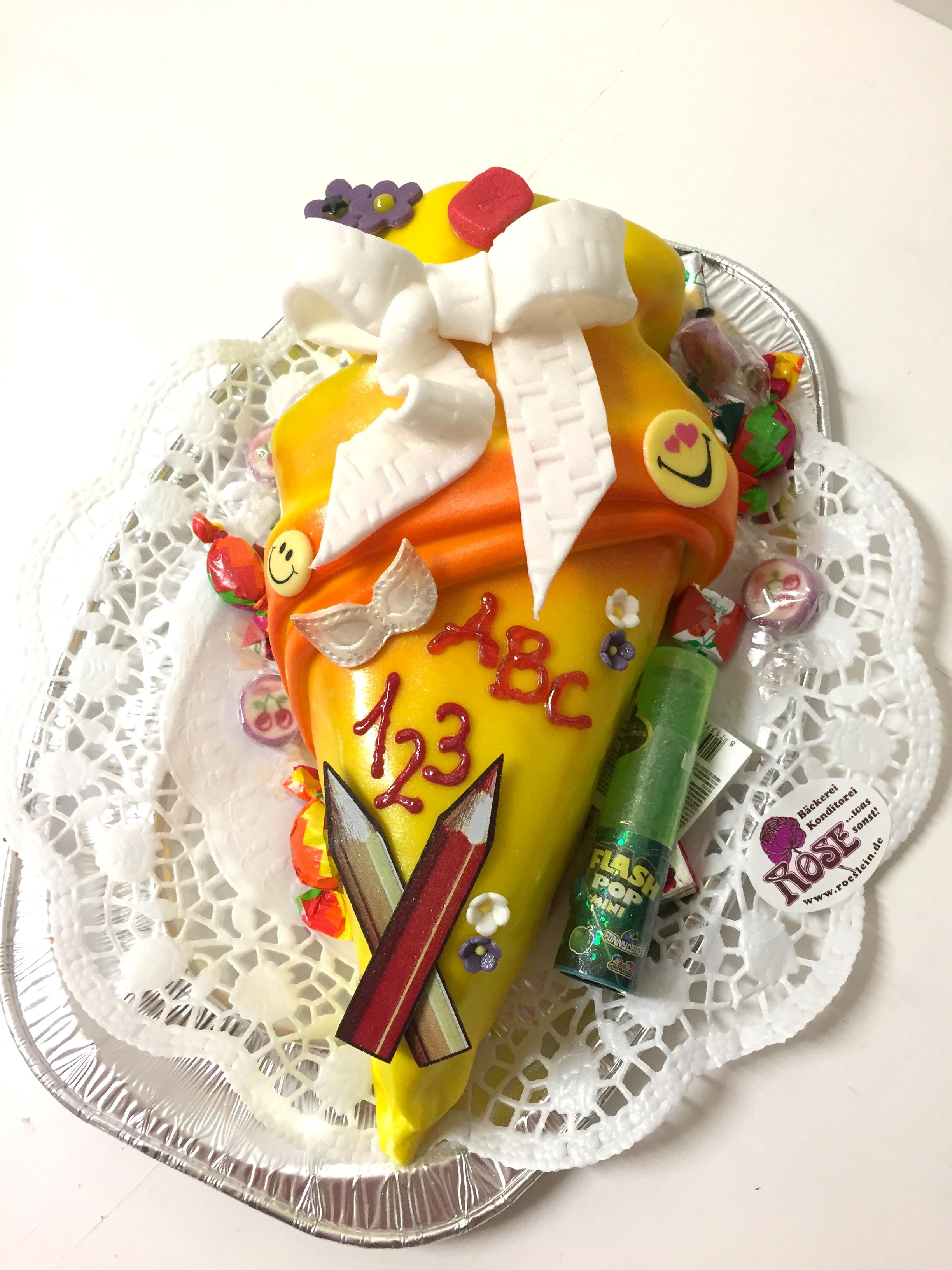 Einschulungs Torte Weimar Bäckerei Rose