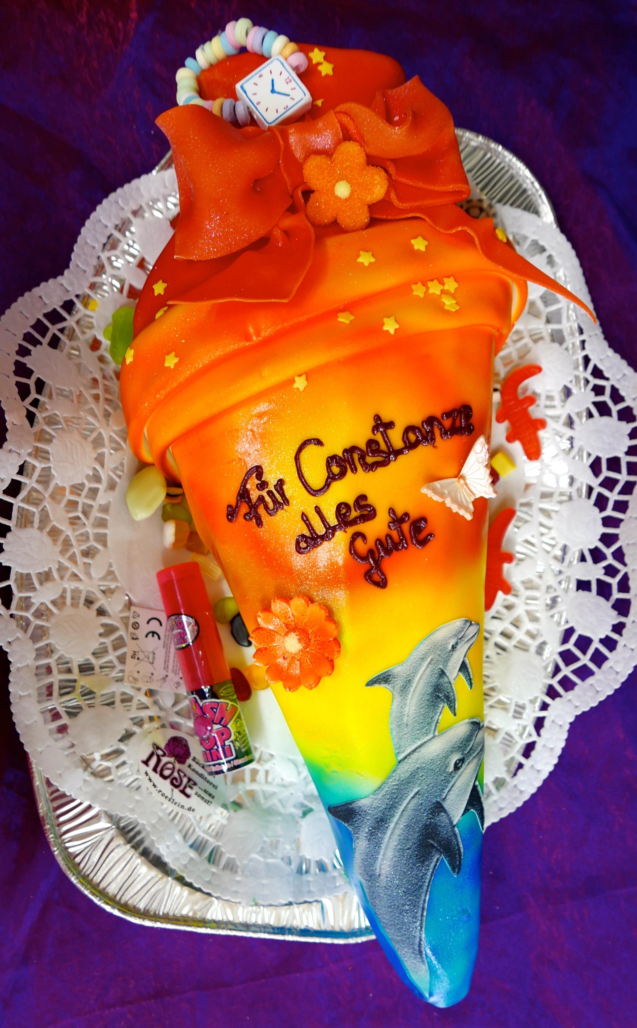 Schulanfangs Torte Bäckerei Rose Weimar
